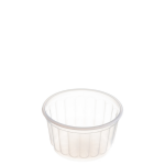 150ml Clear Ribbed Container [MZ151RE]